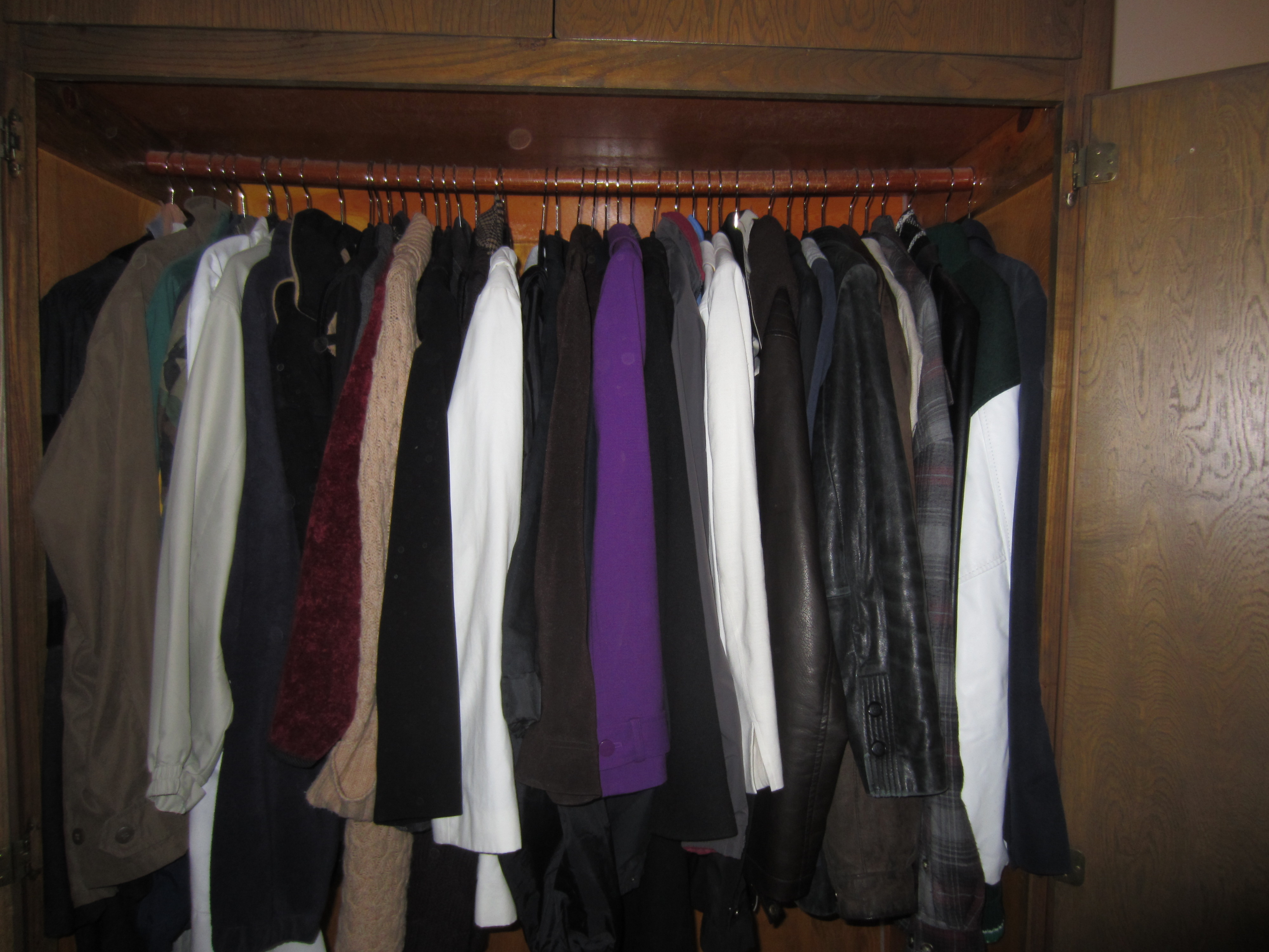 Bon The Coat Closet That You See When You Enter The House Is Stuffed With Nice  Expensive Coats And Jackets. The Problem Is, I Donu0027t Wear Most Of Them.