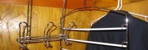 Closet hanger organizers
